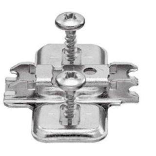 Anschraub-Kreuzmontageplatte Distanz 0.0 mm passend BLUM Clip Top Blumotion Schanier
